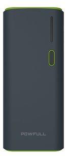 Powfull Dual USB powerbank 12500 mAh-Vooraanzicht