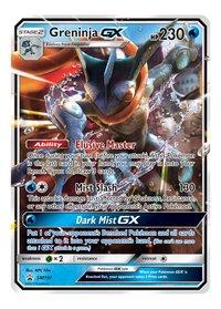 Pokémon Trading Cards Detective Pikachu Greninja-GX Case File ANG-Avant