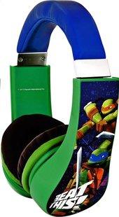 Hoofdtelefoon Teenage Mutant Ninja Turtles blauw