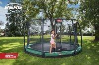 Berg trampoline enterré avec filet de sécurité Champion Inground Ø 2,70 m Green-Image 5