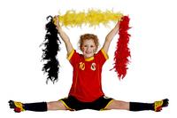 Voetbaloutfit België rood maat 140-Afbeelding 4