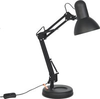 Lampe de bureau Hobby Steel noir-Côté gauche