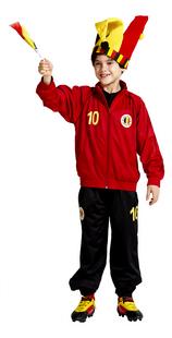 Trainingspak België rood maat 140-Afbeelding 1