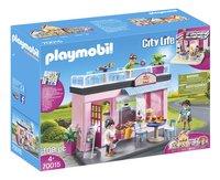 PLAYMOBIL City Life 70015 Salon de thé-Côté gauche