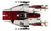 LEGO Star Wars 75275 Le chasseur A-wing-Vue du haut