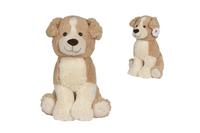 Nicotoy knuffel hond beige 50 cm-Vooraanzicht