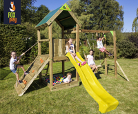 Fox play Schommel met Monkey Bar Riverside + gele glijbaan