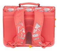Stones and Bones boekentas Cedar Swans Pink 40,5 cm-Achteraanzicht