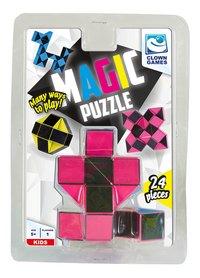 Magic Puzzle 24 stukjes roze-Vooraanzicht