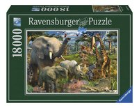 Ravensburger puzzel Wildlife