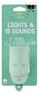 Mini Hornit Nano fietslamp met bel muntgroen-Vooraanzicht