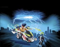 PLAYMOBIL Ghostbusters 9388 Stantz avec véhicule volant-Image 1