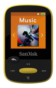 SanDisk lecteur MP3 Sansa Clip Sport 8 Go jaune-commercieel beeld