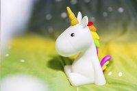 Nachtlampje Unicorn wit-Afbeelding 6