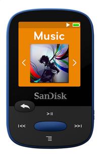 SanDisk lecteur MP3 Sansa Clip Sport 8 Go bleu-Avant