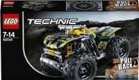 LEGO Technic 42034 Quad motor-Vooraanzicht
