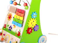 DreamLand tableau d'activités trotteur girafe-Détail de l'article