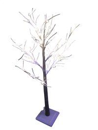 Arbre enneigé lumineux LED blanc chaud
