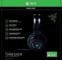Razer Headset Xbox One Thresher 7.1 Wireless zwart-Vooraanzicht