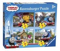 Ravensburger puzzel 4-in-1 Thomas & Friends-Linkerzijde