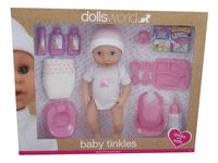 Dolls World speelset Baby Tinkles-Linkerzijde