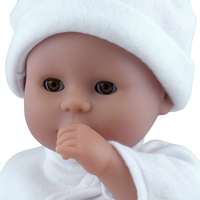 Dolls World zachte pop Little Treasure wit-Artikeldetail