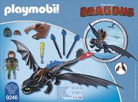 Playmobil Dragons 9246 Harold et Krokmou