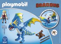 PLAYMOBIL Dragons 9247 Astrid et Tempête-Arrière