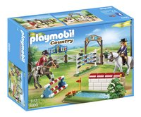 PLAYMOBIL Country 6930 Paardenwedstrijd-Linkerzijde