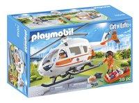 PLAYMOBIL City Life 70048 Hélicoptère de secours-Côté gauche