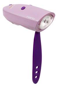 Mini Hornit Nano phare pour vélo avec sonnette rose/mauve-Détail de l'article