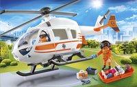 PLAYMOBIL City Life 70048 Hélicoptère de secours-Image 1
