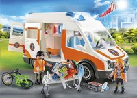 PLAYMOBIL City Life 70049 Ambulance en ambulanciers-Afbeelding 1