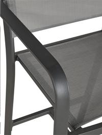 Ocean chaise de bar haute Anzio charcoal-Détail de l'article