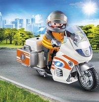 PLAYMOBIL City Life 70051 Urgentiste et moto-Image 1