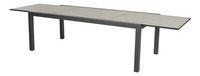 Ocean table de jardin à rallonge Lissabon charcoal L 220 x Lg 106 cm-Détail de l'article