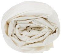Sleepnight Drap-housse hauteur des coins 25 cm ivoire en coton 180 x 200 cm-Détail de l'article