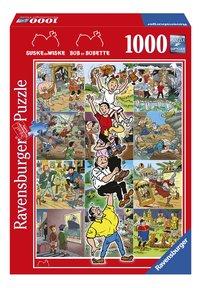Ravensburger Puzzel De avonturen van Suske en Wiske-Vooraanzicht