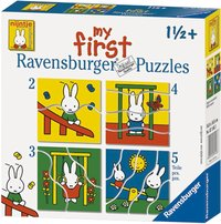 Ravensburger puzzle évolutif 4 en 1 Miffy