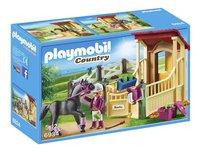Playmobil Country 6934 Box avec cavalière et pur-sang arabe