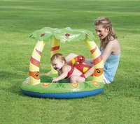 Bestway opblaasbaar kinderzwembad Friendly Jungle-Afbeelding 1