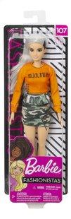Barbie mannequinpop Fashionistas Original 107 - Malibu Camo-Vooraanzicht