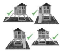 EXIT maisonnette en bois Loft 550 naturel-Détail de l'article