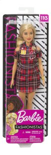 Barbie mannequinpop Fashionistas Original 113 - Patched Plaid-Vooraanzicht
