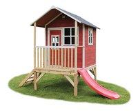 EXIT houten speelhuisje Loft 300 rood