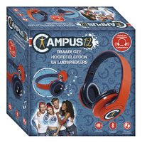 Campus 12  bluetooth hoofdtelefoon en speakers-Linkerzijde