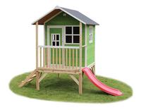 EXIT maisonnette en bois Loft 300 vert-Avant