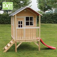 EXIT houten speelhuisje Loft 300 naturel-Afbeelding 2