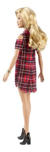 Barbie mannequinpop Fashionistas Original 113 - Patched Plaid-Achteraanzicht