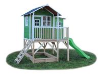 EXIT maisonnette en bois Loft 550 vert-Côté gauche